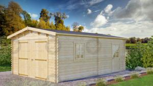 garaz-drewniany